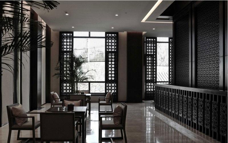 古香古色的中式酒店装修