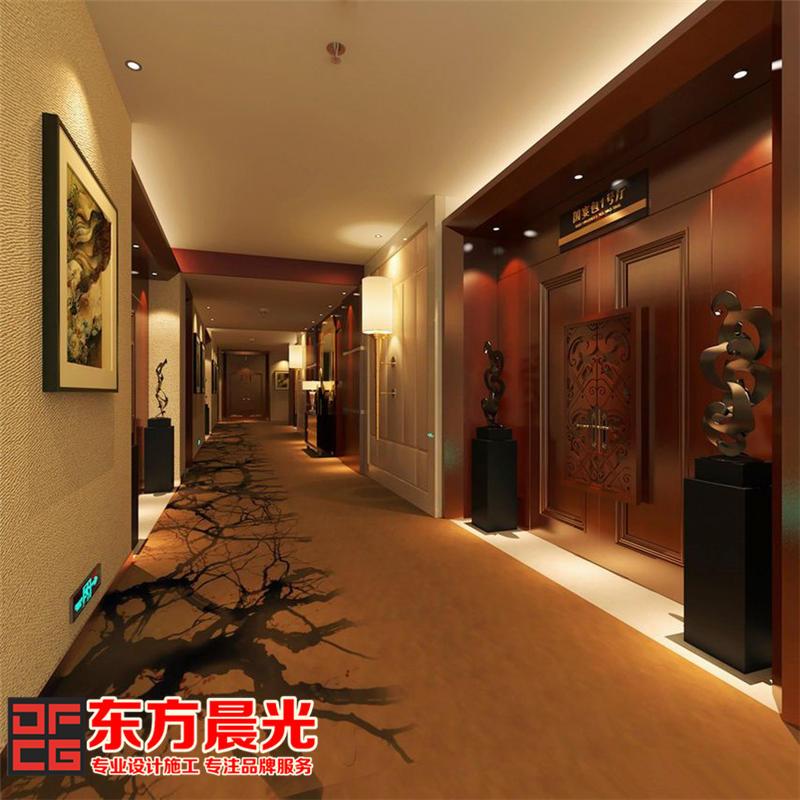 中式设计餐饮酒店装修