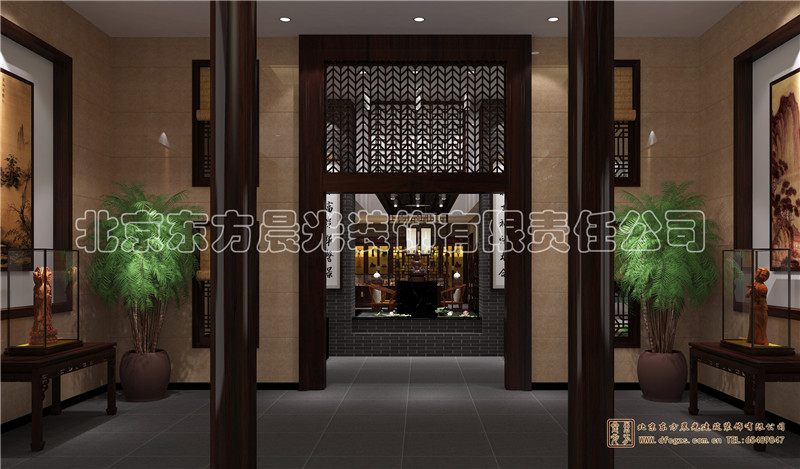 四合院酒店设计