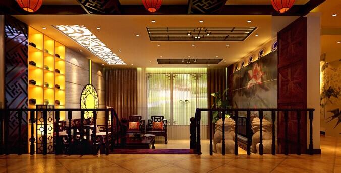 酒店装修方案之中式装修