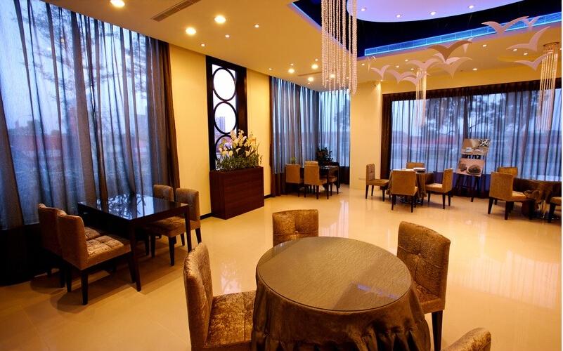 中式设计装修餐厅意境