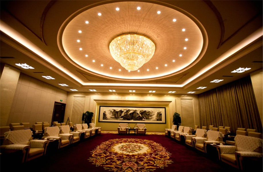 渲染优雅高端的酒店休闲氛围