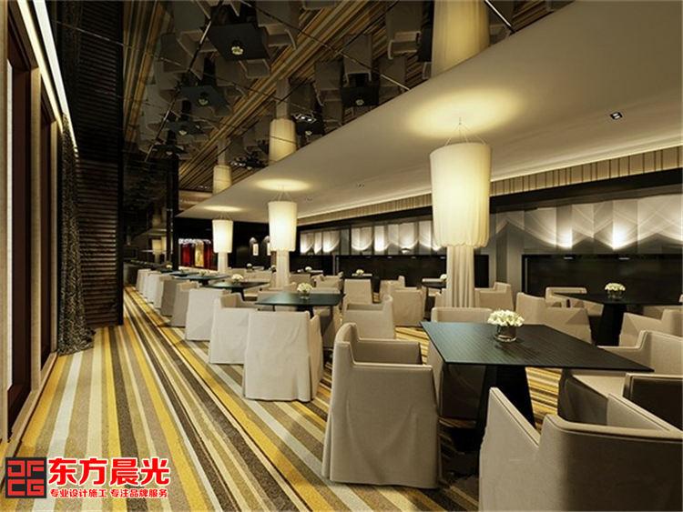 古典与时尚并存的现代酒店装修_餐厅