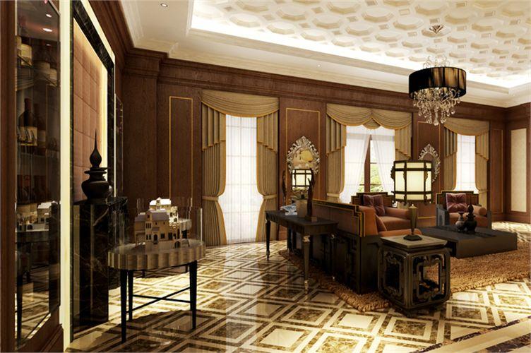 餐厅装修设计古典氛围