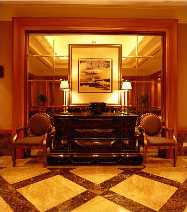 中式风格高端沉稳酒店设计装修