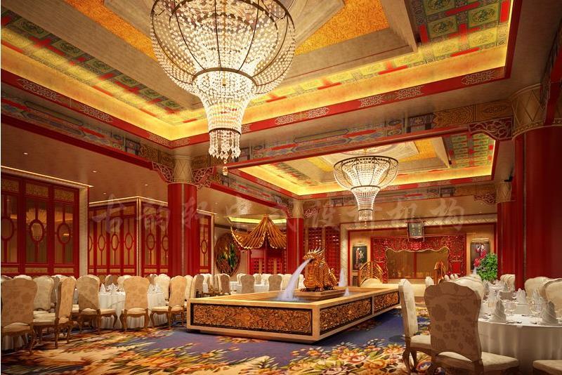 中式酒店装修效果图 享受古雅高端的传承文化