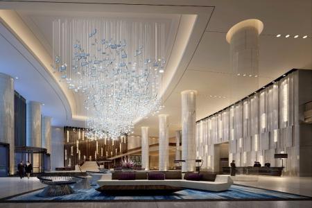 从新中式酒店大堂设计
