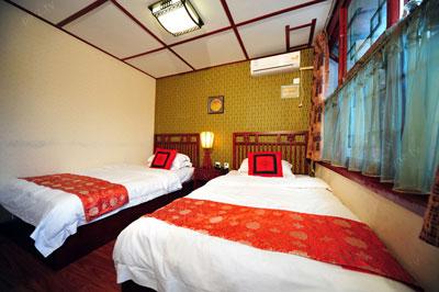 四合院酒店中式设计效