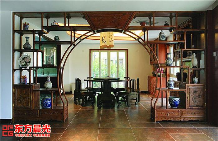 私人会所中式装修设计-餐厅
