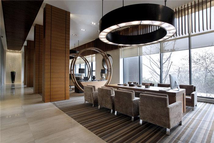 现代混搭高级会所装修设计