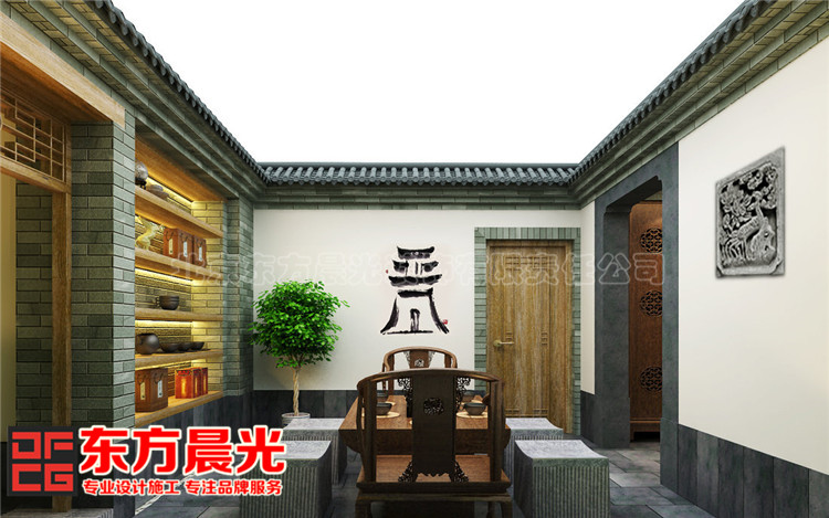 中式私人会所装修设计
