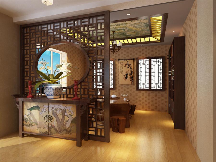 中式风格会所装修设计芳香淡雅