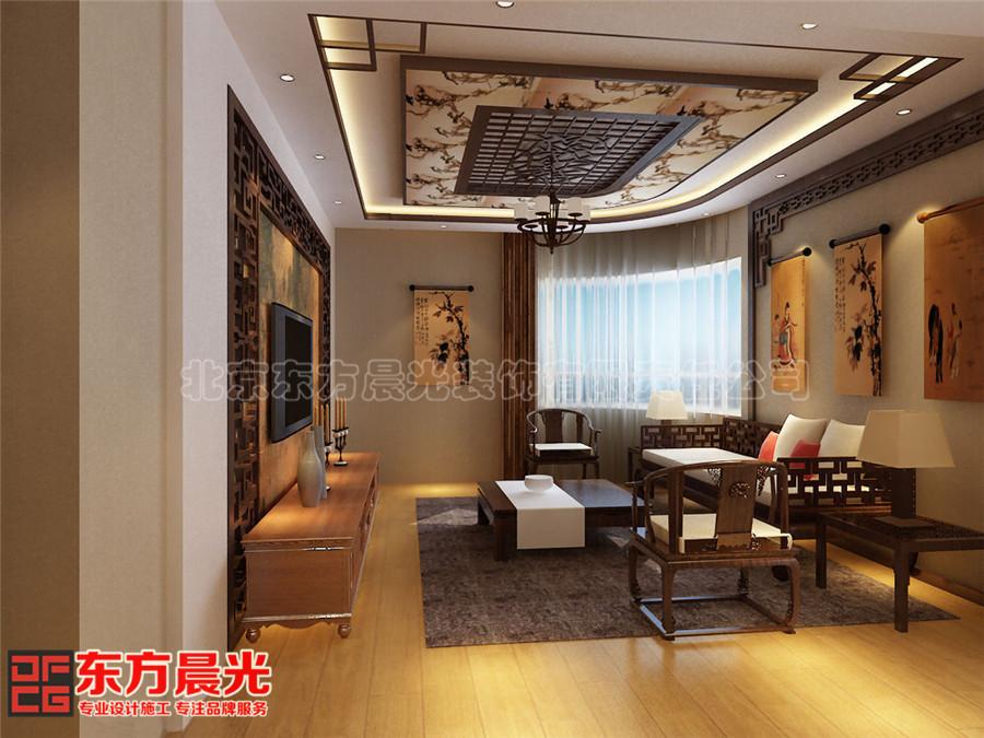 中式风格会所装修设计古朴芬芳