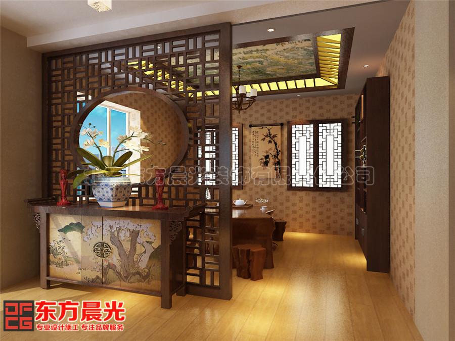 中式风格会所装修设计茶室设计芳香优雅