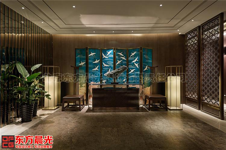 多功能古典中式会所装修设计古典优雅