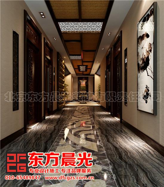 中式餐饮会所装修设计