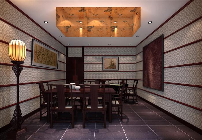 茶餐厅会所中式装修设计