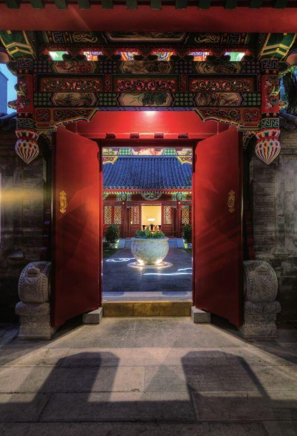 北京四合院会所仿古格局