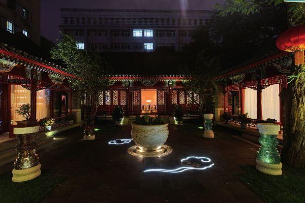 北京四合院会所仿古格