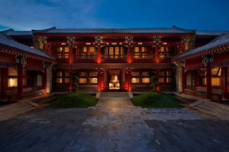 北京四合院会所新中式