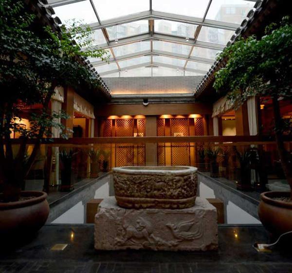 北京四合院会所中式装修效果