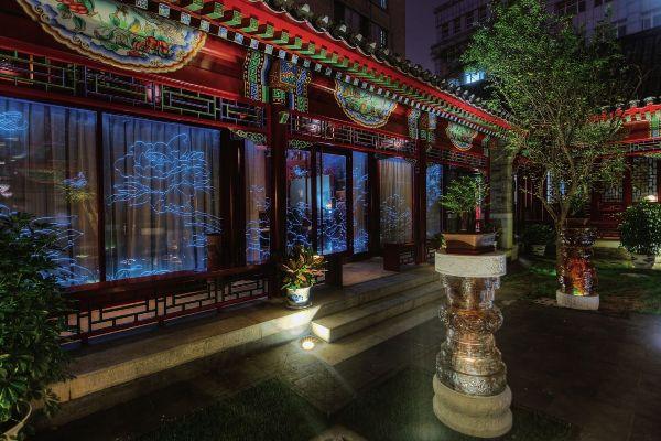 北京中式会所仿古设计效果