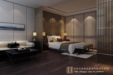 四合院中式居室设计效果图