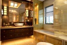 洗手间效果图