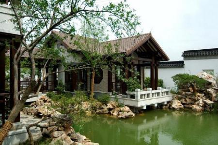 中式别墅效果图