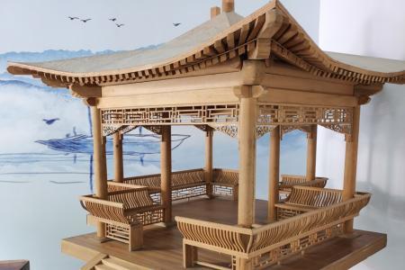 中式古典风格亭子