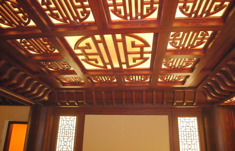 中式吊顶花格