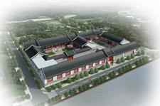大型酒店四合院设计效