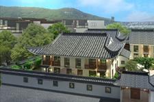 新中式四合院别墅设计图
