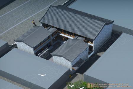 北京房山四合院设计效