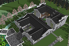 广西四合院建筑设计工